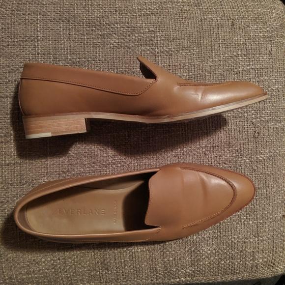 Everlane Modern Loafer Camel Leather